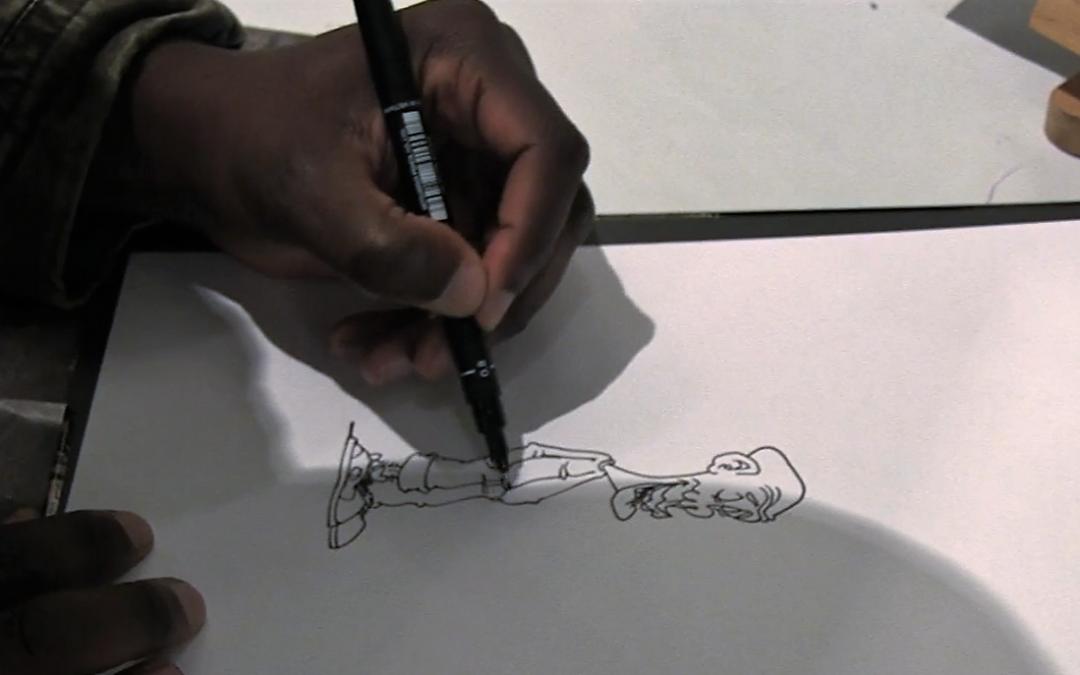 Berthet One un artiste qui est passé de la prison à la bande dessinée
