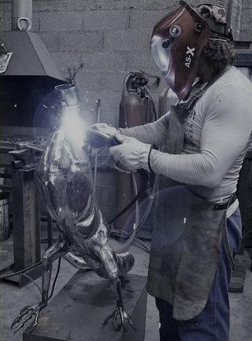 FK sculpture, donner vie à la matière