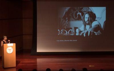 Conférence à l'université de Santa Clara en Californie sur l'art en prison